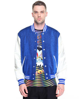 Light Jackets - Glitter Varsity Jacket