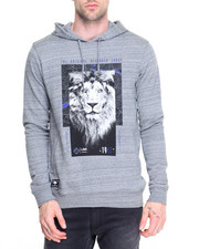 Men - Research Lion Pullover Hoodie