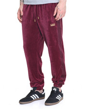 Adidas - VELOUR CUFFED TRACK PANTS