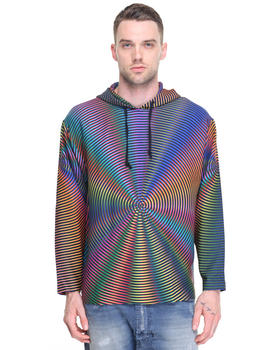 Men - Spiral Prism  Hoodie