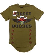 Tops - STREET BULLIES MILITARY TEE (8-20)