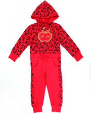 Apple Bottoms - FLEECE JUMPSUIT (2T-4T)