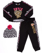 Girls - ANIMAL PRINT JOGGER SET (4-6X)