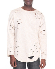 Buyers Picks - L/S Melange Scallop Tee