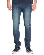 Jeans & Pants - Slim - Straight Stretch Premium Denim Jeans