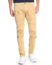 Jeans & Pants - Rip & Repair Washed Twill Pants