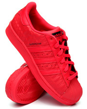 Girls - SUPERSTAR TRIPLE RED J SNEAKERS (3.5-7)