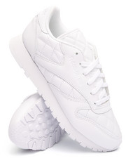 Women - CLASSIC LEATHER QUILTED SNEAKERS
