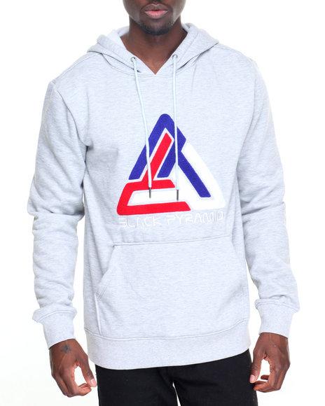 Black pyramid hoodie
