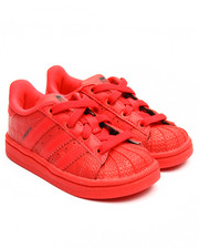 Girls - SUPERSTAR TRIPLE RED EL I SNEAKERS (5-10)