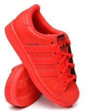 Girls - SUPERSTAR TRIPLE RED C SNEAKERS (11-3)