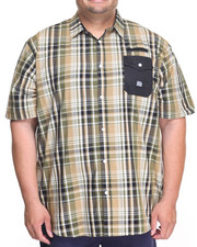 Parish - Plaid S/S Button-Down (B&T)