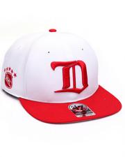 Hats - Detroit Red Wings Sure Shot Two Tone 47 Captain Snapback Cap