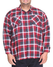 Rocawear - Pace 99 L/S Button-down (B&T)