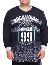 Rocawear - Section 99 L/S Crew Jersey Knit