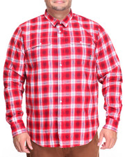 LRG - Vice L/S Flannel Button-Down (B&T)