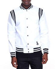 Crooks & Castles - The Player Stadium Jacket