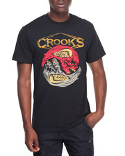 Crooks & Castles - Twin Skull Medusa T-Shirt