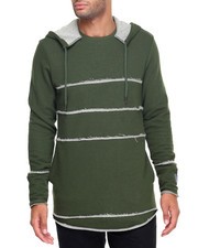 Hoodies - Kendo Raw Edge Hoody