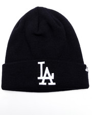 Women - Los Angeles Dodgers Raised Cuff Knit Beanie
