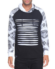 Buyers Picks - Money Print Razor Slashed Hoodie