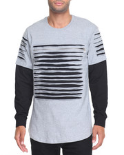 Buyers Picks - Razor Slashed Fishtail L/S Crew