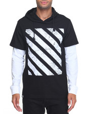 Buyers Picks - Graphic Stripe L/S Hoodie