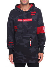 Hoodies - Sniper Elongated Camo Hoody