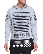 Buyers Picks - Razor Zipper Print Hoodie