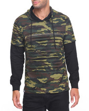 Buyers Picks - Camo Razor Slashed Hoodie