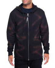 Hoodies - Foggy Midnight Zip Hoody