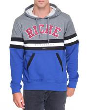 Men - Riche Varsity Pullover Hoodie
