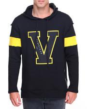 Men - Varsity Cut - Off Sleeve Pullover Hoodie