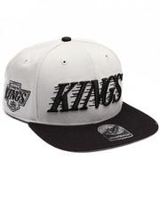 Men - Los Angeles Kings Side Script Two Tone 47 Snapback Cap
