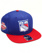 Men - New York Rangers Sure Shot Two Tone 47 Captain Snapback Cap