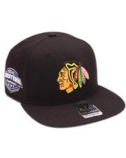 Hats - Chicago Blackhawks Sure Shot 47 Captain Snapback Cap