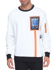 Buyers Picks - Patched Crewneck Sweatshirt