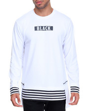 Buyers Picks - L/S Detachable Zipper  Elongated Tee