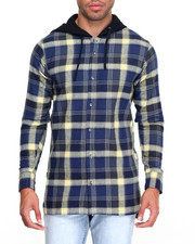 Button-downs - Thom L/S Flannel Button-Down