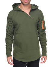 Buyers Picks - Bomber Trimmed Hoody