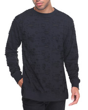 Buyers Picks - Ripped Crewneck Sweatshirt