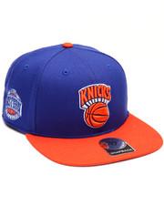 Men - New York Knicks Sure Shot Two Tone 47 Captain Snapback Cap