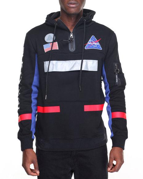 Buy Space Trooper L S Hoodie Men S Hoodies From Black