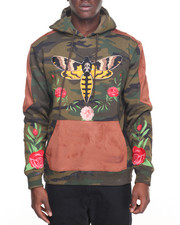 Men - Moth Pullover Hoodie