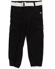 Boys - BELTED CARGO JOGGERS (4-7)