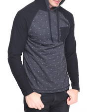 Men - Star Print Hoody