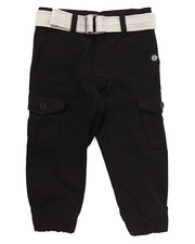 Boys - BELTED CARGO JOGGERS (2T-4T)