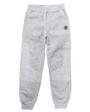 Boys - FLEECE MOTO JOGGERS (8-20)