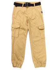Sizes 8-20 - Big Kids - BELTED CARGO JOGGERS (8-20)