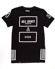 Boys - ELONGATED AKA LEGACY TEE (8-20)